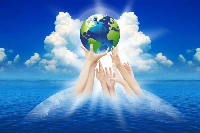 عالم الكرة الارضية كوكب الخلفية World Globe World Planets