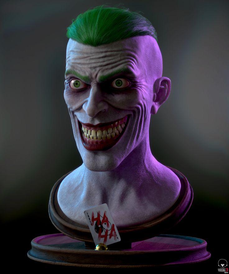 Joker - Endgame, Lukas Chrapek on ArtStation at https://www.artstation.com/artwork/e9x4D