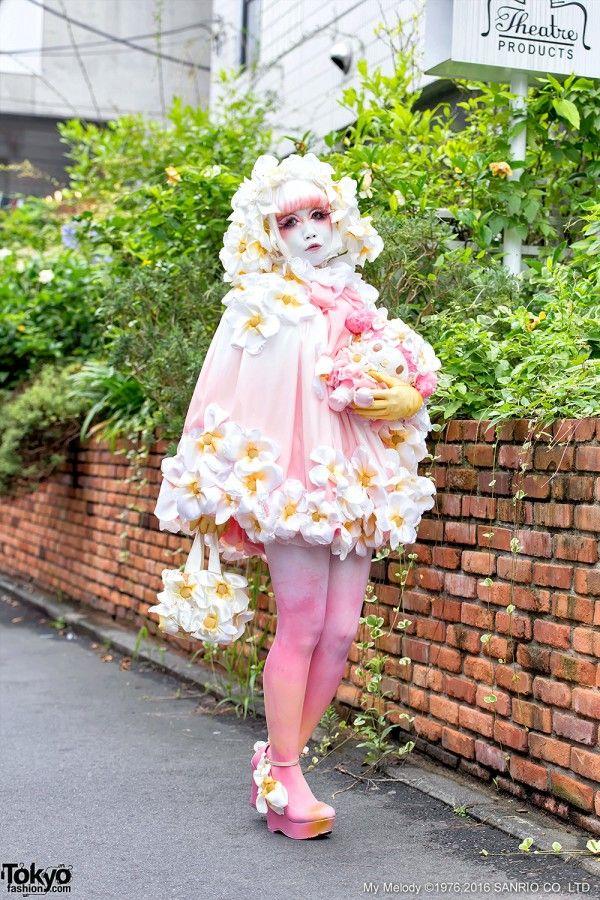 Shironuri Fashion by Minori in Harajuku