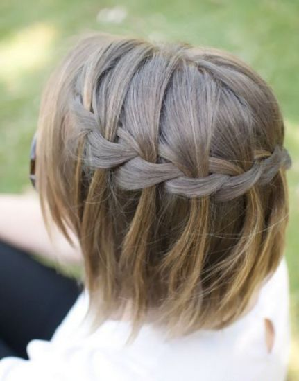 Быстрые прически на короткие волосы