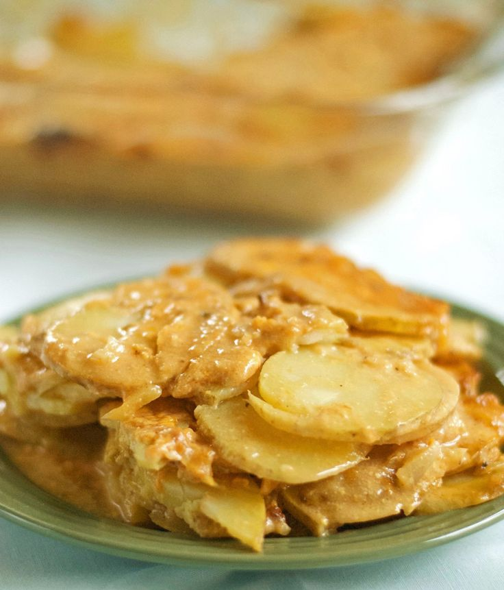 Gluten Free Scalloped Potatoes Easy To Make And Contains A Surprise Ingredient Ketchup