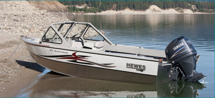 New 2012 Hewescraft 160 Sportsman Multi-Species Fishing Boat