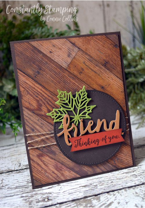 Seasonal Layers, Lovely words, wood textures DSP, Stamping Up