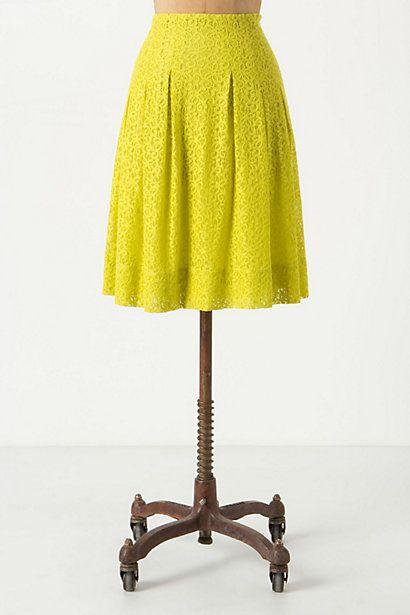 Tart Citron Skirt - Anthropologie.com
