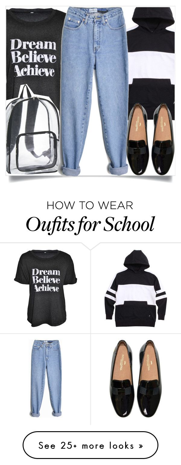 """""""School Fashion"""" by madeinmalaysia on Polyvore featuring Zanerobe"""