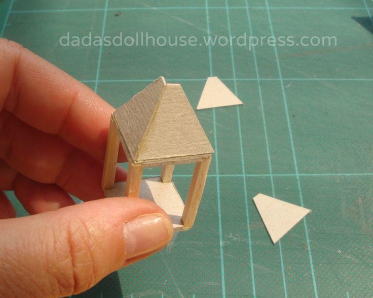 Oltre 25 fantastiche idee su case in miniatura su for Piccoli piani casa hacienda