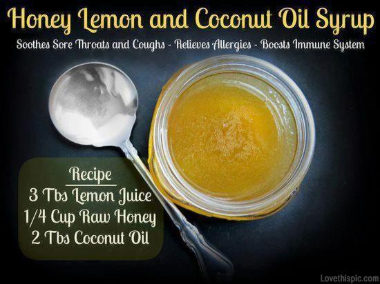 Sore throat remedy food winter lemon recipes honey easy recipes home remedies