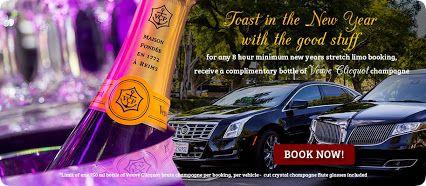 Toast in the New Year 2017!!! Book minimum 8 hours of any limo and receive a complimentary bottle of Veuve Champagne from A & E Worldwide Limo, Los Angeles!   A&E Worldwide Limousine - Google+