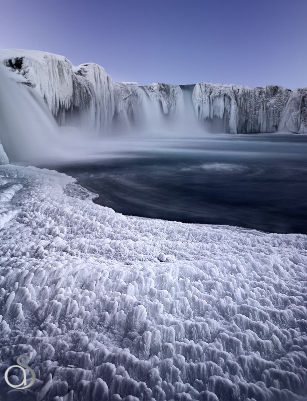 Godafoss Islande / godafoss