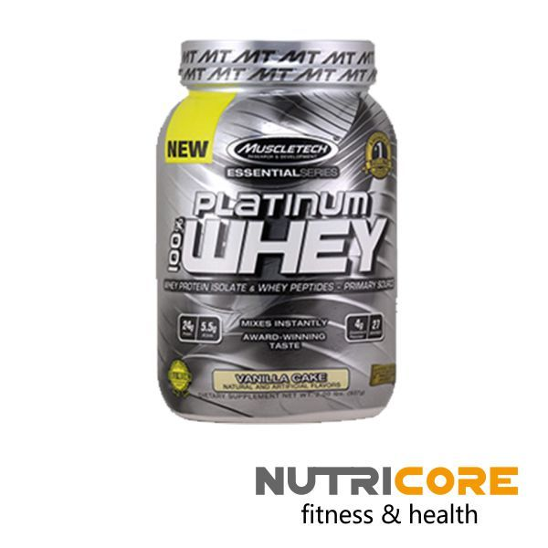 PLATINUM 100% WHEY | Nutricore | fitness & health