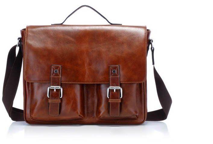 Men's Leather bag - Laptop | Bags | Pinterest | Borse uomo, Uomo ...