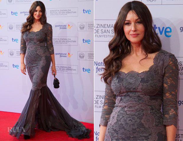 Monica Bellucci In Dolce & Gabbana - 'Fasle Kargadan' San Sebastian Film Festival Premiere