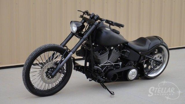 harley custom nighttrain | 2007 FXSTB Night Train Full Custom 103ci Trask Turbo Hot Bike Feature ...