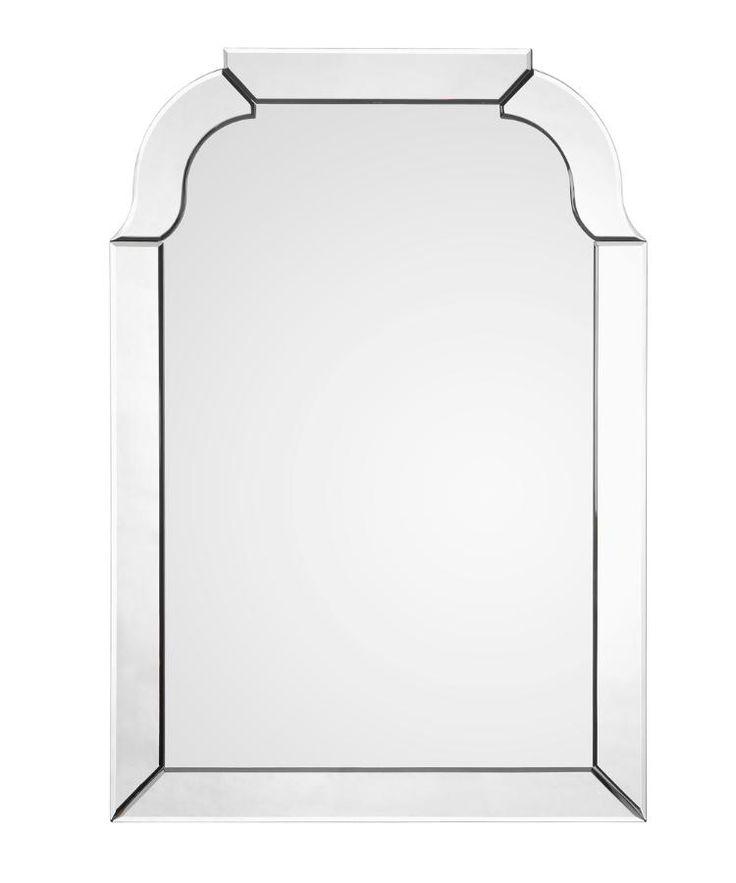 """H: 40"""" W: 28"""" D: 1"""" H: $823. Take 20% sales  $658.40 Mirror Framed Queen Anne Mirror"""