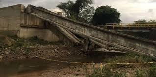 Pruebas de resistencia a la nueva viga del puente Quebrada Moreno resultaron positivas