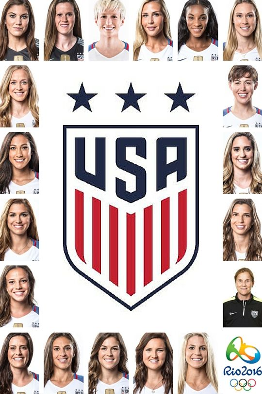 US Women's Olympic National Team 2016 #rio2016