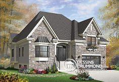 Plan de maison no. W3437-V1 de dessinsdrummond.com