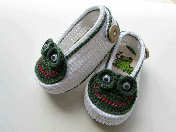 84 best zapaticos bebe images on pinterest crochet baby baby super cute crochet for little feet altavistaventures Choice Image