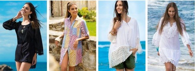 Tunici si rochii de plaja ieftine