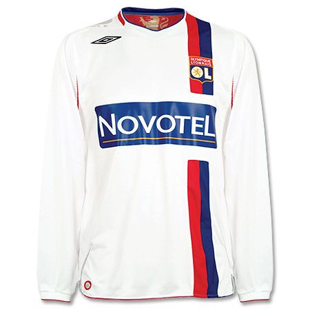 Olympique Lyon Umbro 07-08 Lyon L/S home Official http://www.comparestoreprices.co.uk/football-kit/olympique-lyon-umbro-07-08-lyon-l-s-home.asp