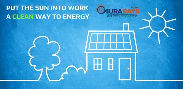 Put the Sun into work, A Clean way to Energy!! Try #Solar Now: https://twitter.com/Aurarays #solarenergy