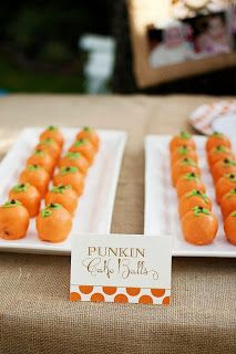 Food tent cards by HH Design house for fall first birthday party! Questions: info@hhdesignhouse.com.
