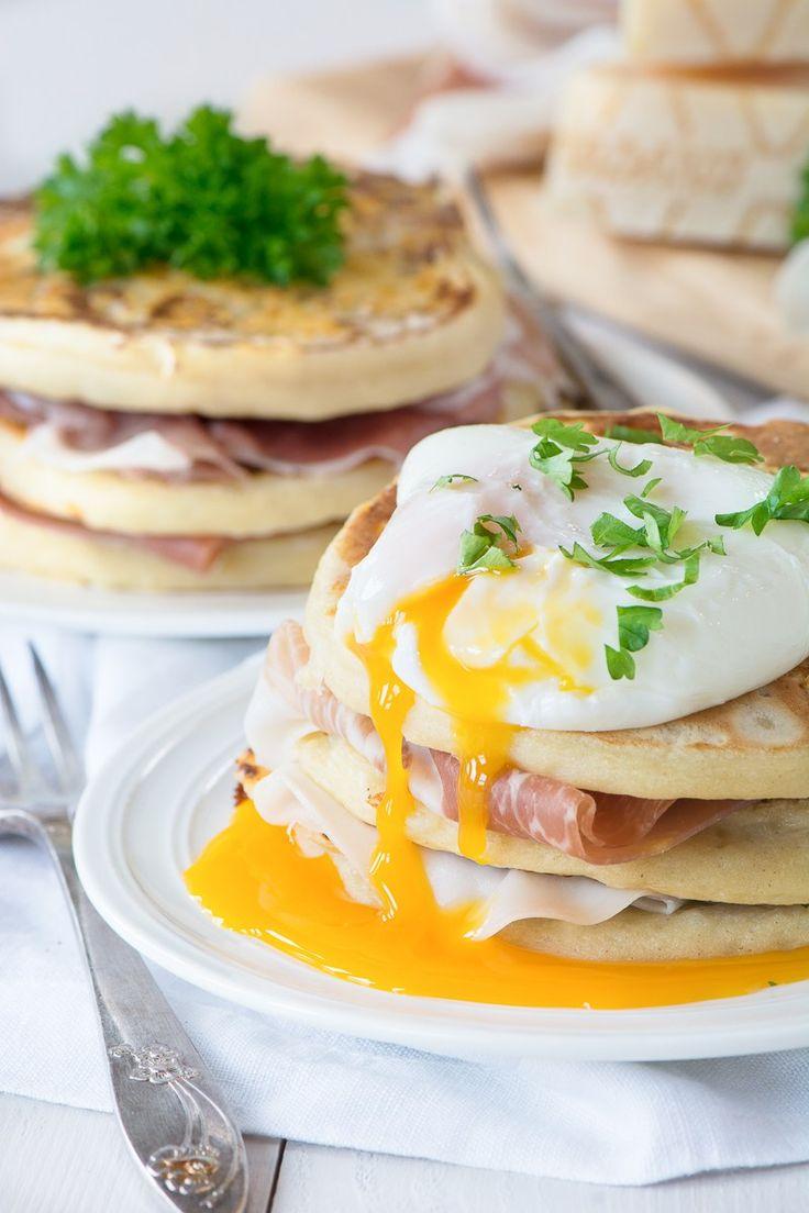 Grana Padano & Potato Pancakes with Prosciutto di San Daniele