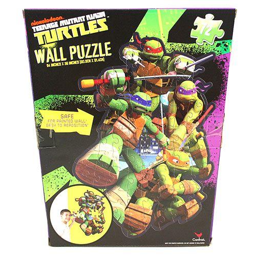 Teenage Mutant Ninja Turtles Toys for Preschoolers Wall Puzzle