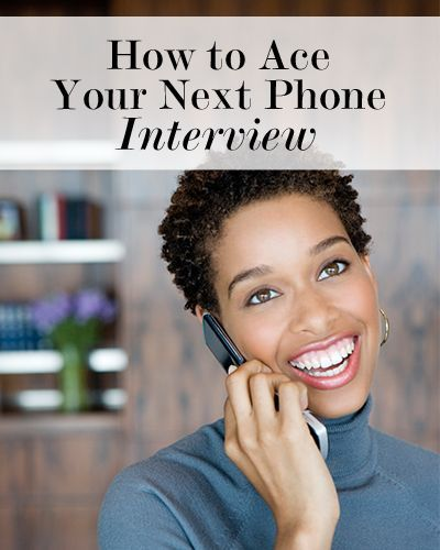 A phone interview can be just as hard as an in person interview. Here are tips on how to handle it. #career Interivew Tips Interviewing