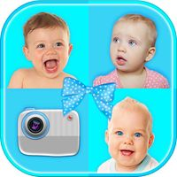 Baby Photo Collage Creator – Make Cute Newborn Pic.ture Grid With Frame.s For Kids by Ivan Milicevic