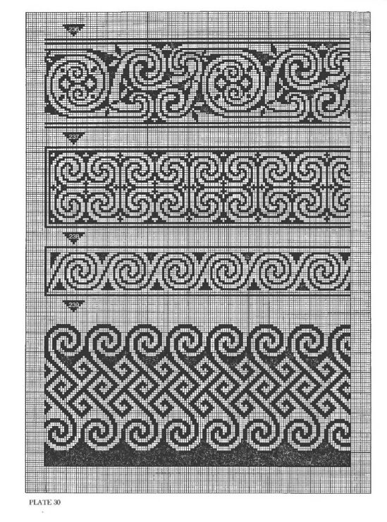 Gallery.ru / Фото #37 - Celtic Charted Designs - thabiti. The bottom one for the royal alpaca?