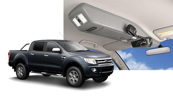 Ford Ranger PX Roof Console