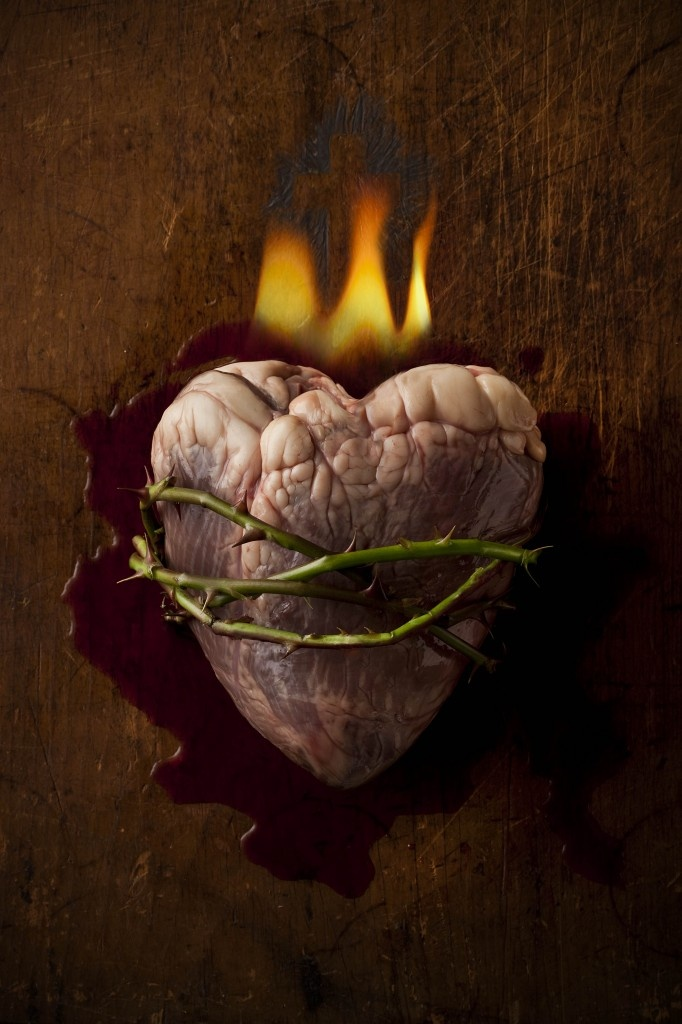 """One of the few times, I've seen a heart look like a """"heart."""""""