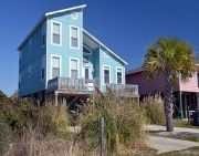 Beach House on Oak Island,NC   A Beach Retreat. It's our get away place and do we love it!