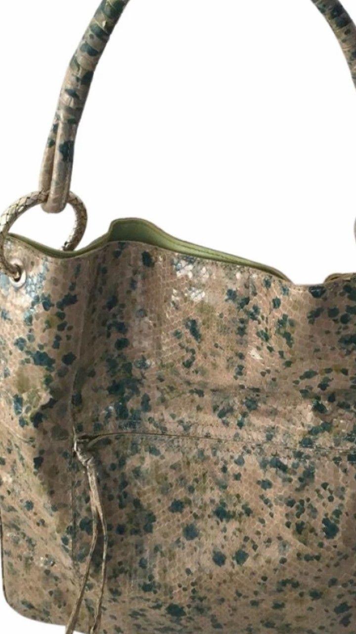 Bottega Veneta python bag  c1acfc9340fe2