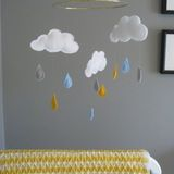 Name: Edrie (5 months)Location: Portland, OR Though we now know Edrie is a girl, we didn't prior to her birth. We knew it was popular, but a grey and yellow color palate worked perfectly for a gender neutral nursery. We were on a tight budget and I love to craft, so many projects in the room were DIY.