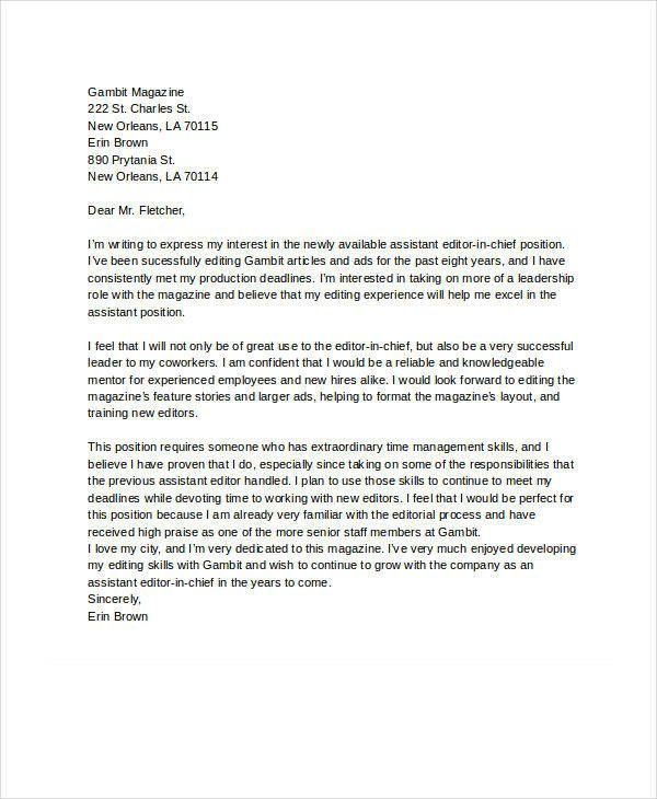 Letter Of Interest Template Free from i.pinimg.com