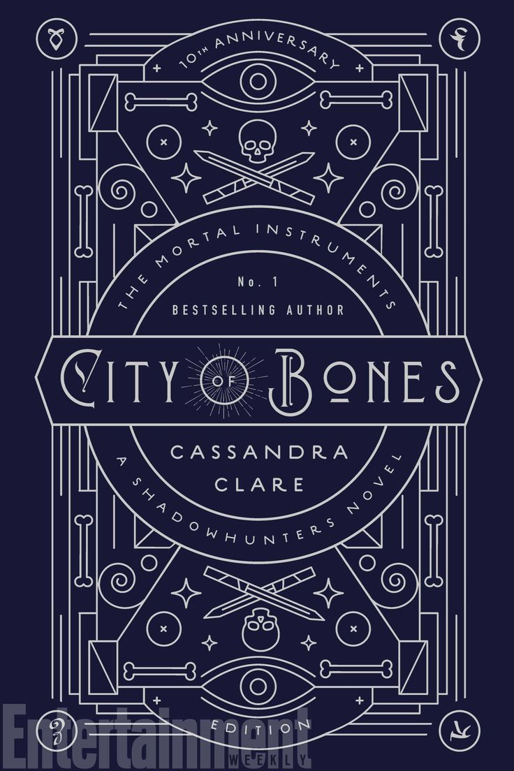 Cover for City of Bones 10th Anniversary Edition. Will be out November 7, 2017! ♡