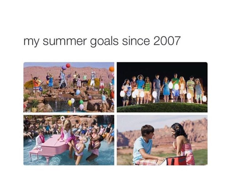 High School Musical 2 summer love between Troy & Gabriella!! ❤️