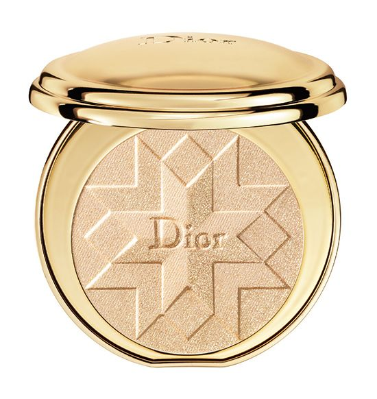 Dior Golden Shock Collection for Holiday 2014 - Diorific Illuminating Press Powder ($80.00) (Limited Edition) - ◾Gold Shock (001)