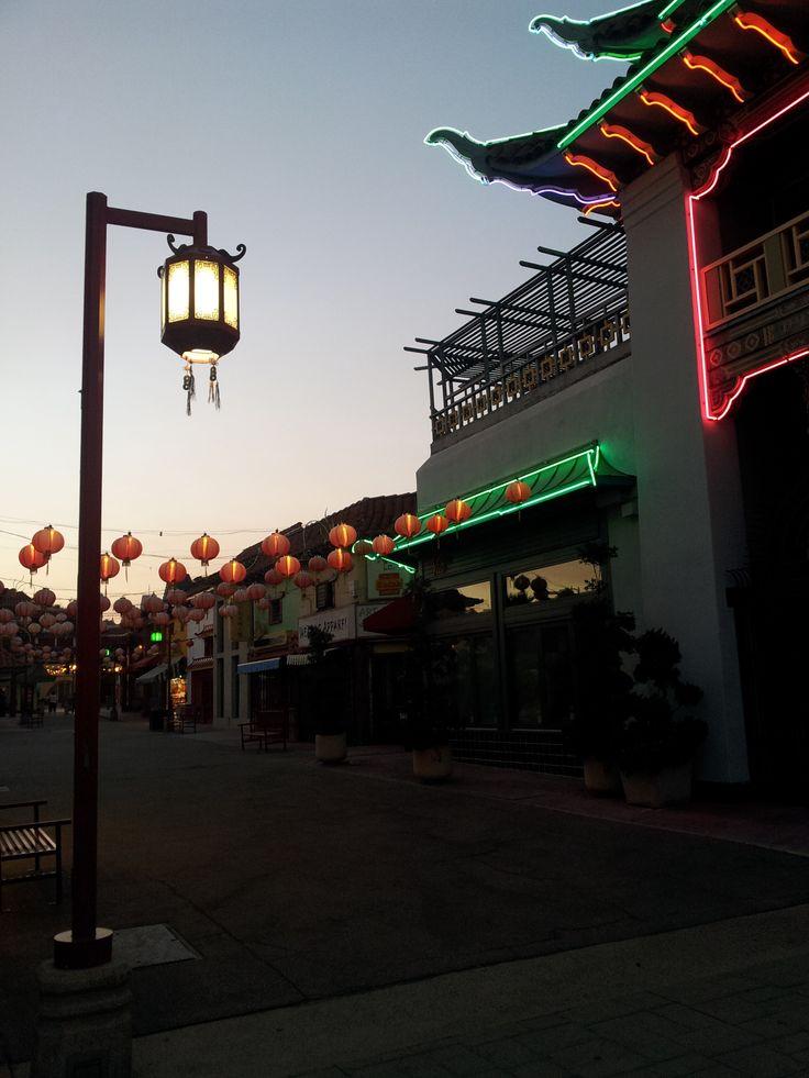 Čínská čtvrť v Los Angeles je mnohem menší a prázdnější, než její dvojče v San Franciscu.