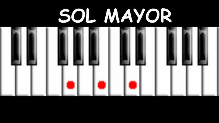 Acordes - Piano Tutorial, via YouTube.