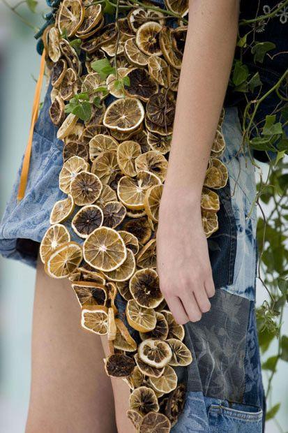 Eco-friendly fashion show