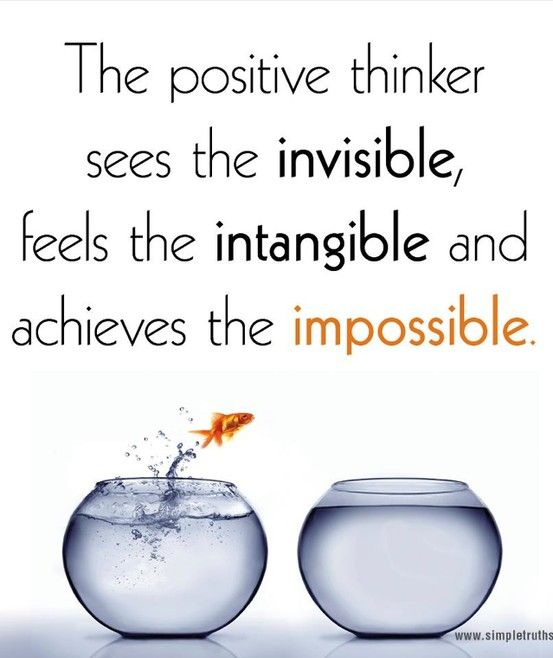 """The positive thinker sees the invisible, …"" ~ variant of a quote from James William Cox (often misattributed to Winston Churchill)"