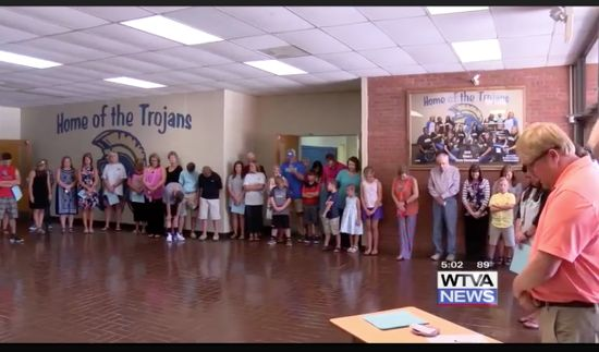 Mississippi District Prepares for New School Year With Illegal Prayer Service