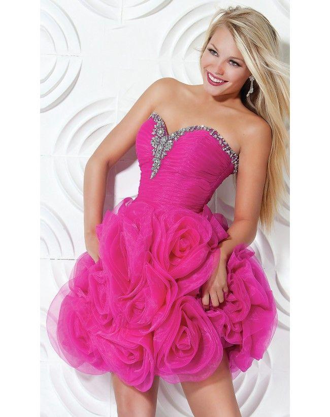 Mejores 54 imágenes de 2014 Short Prom Dresses en Pinterest ...