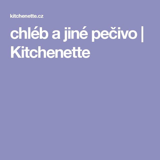 chléb a jiné pečivo | Kitchenette