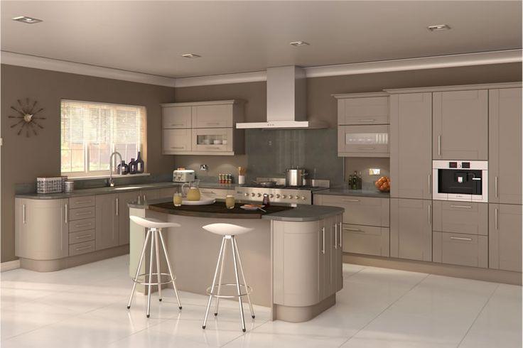 Fulford Stone Grey Kitchens - Buy Fulford Stone Grey Kitchen Units at Trade Prices