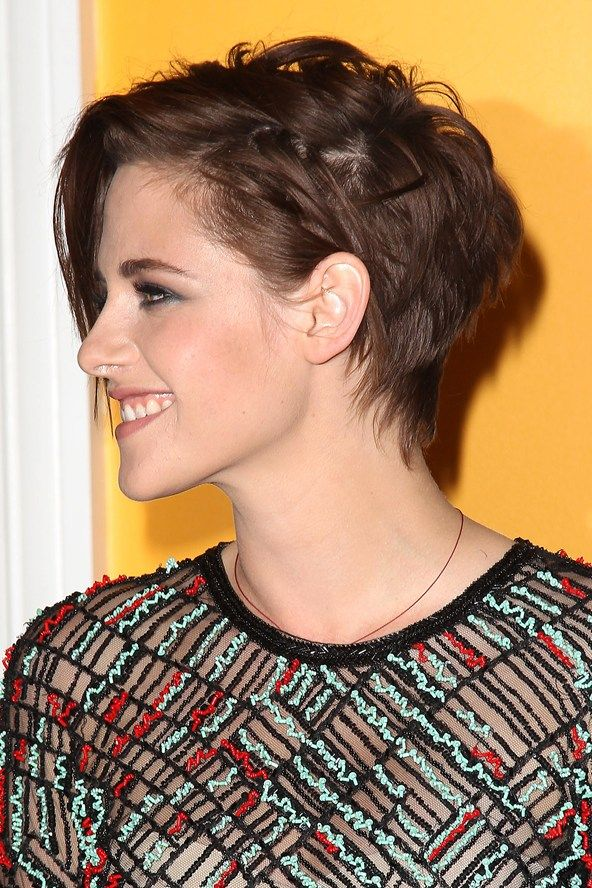 kristen stewart short hairstyle hairspiration. Black Bedroom Furniture Sets. Home Design Ideas