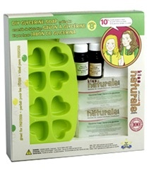A gift card to buy things like this Natural Soap Making Kits for Kids!